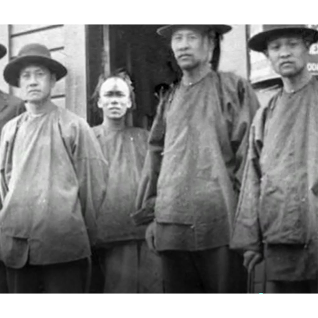 Chinese workers unknown - around late 1800s or early 1900s